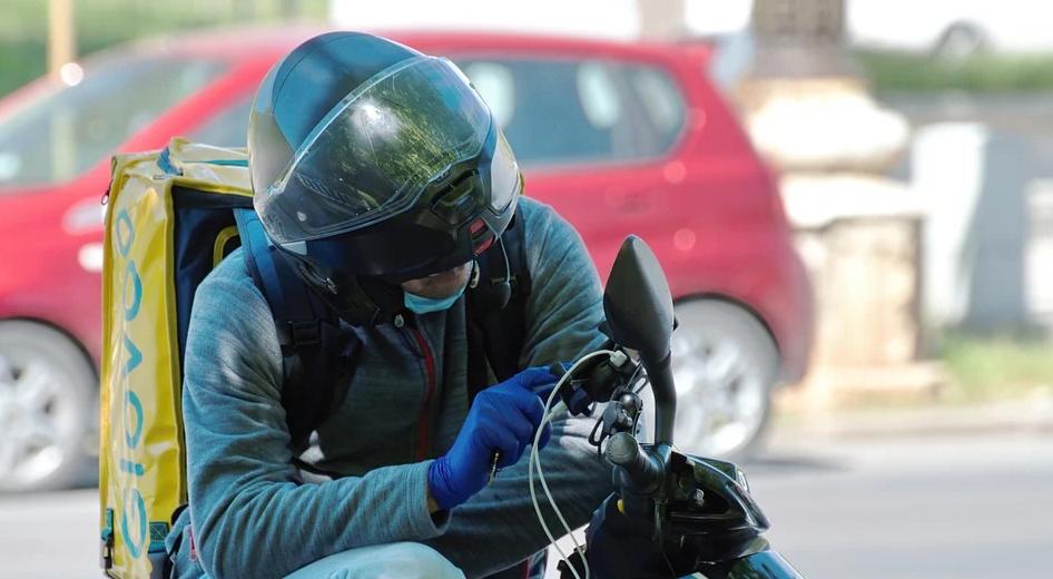 Navigation für das Motorrad